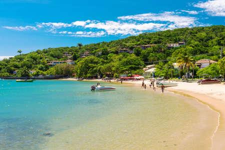 Beach of Ossos in Buzios, Rio de Janeiro  Brazil 스톡 콘텐츠