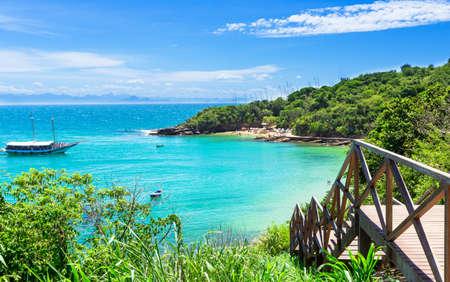 Azeda Beach in Buzios, Rio de Janeiro  Brazil