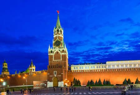 spasskaya: Spasskaya Tower in the Moscow Kremlin. Russia