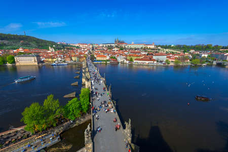 charles bridge: Charles Bridge Karluv Most and Prague  , Czech Republic.