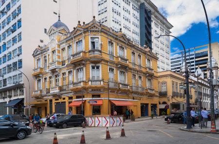 rio de janeiro: Old street of Centro in Rio de Janeiro. Brazil