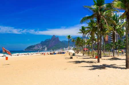 janeiro: Ipanema beach in Rio de Janeiro. Brazil Stock Photo