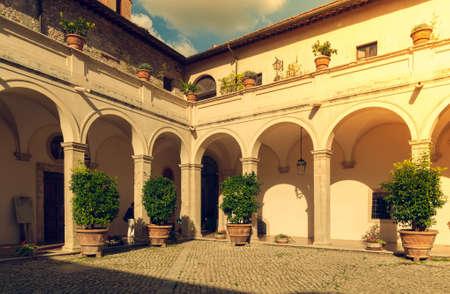 Villa d Este in Tivoli. Italy