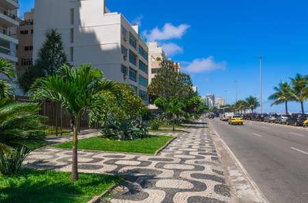 seafront: Seafront of Ipanema in Rio de Janeiro. Brazil