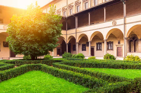 medici: The Laurentian Library (Biblioteca Medicea Laurenziana) is a historical library in Florence, Italy. Built in a cloister of the Medicean Basilica di San Lorenzo di Firenze under the patronage of the Medici pope, Clement VII