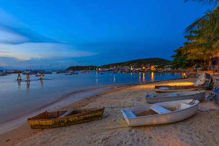 janeiro: Sunset in Buzios. Rio de Janeiro, Brazil