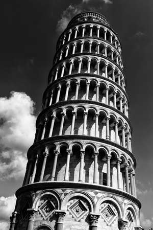 The Leaning Tower of Pisa (Torre pendente di Pisa) in Pisa, Italy. The Leaning Tower of Pisa is one of the main landmark of Italy