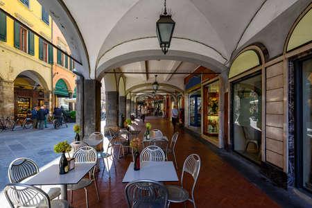 Ð¡ozy street in Pisa, Tuscany. Italy