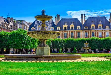 Place des Vosges (Place Royale)  is the oldest planned square in Paris and one of the finest in the city.