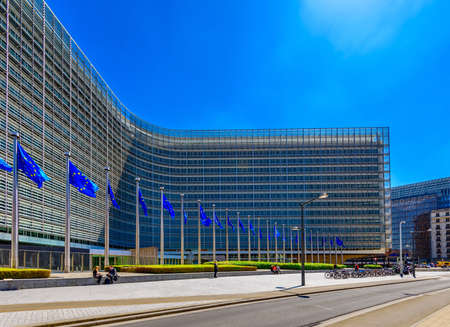 European Commission Headquarters building - Berlaymont