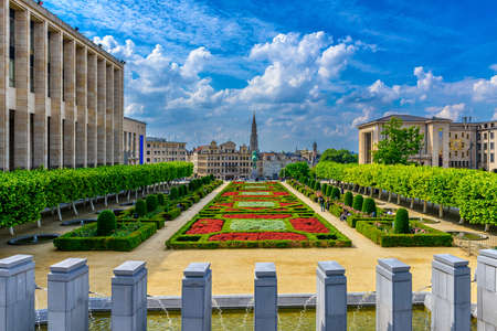 The Mont des Arts or Kunstberg is an urban complex and historic site in the center of Brussels, Belgium. Architecture and landmarks of Brussels.