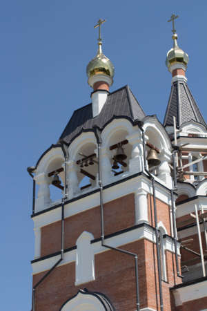reconstruction: reconstruction of the Orthodox Church in Siberia