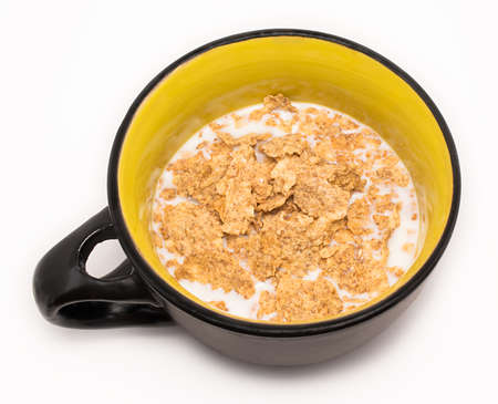 and cellulose: Flakes for breakfast with milk in the cap. Flakes are made of mill offals and have too much cellulose so it is very health-giving and dietetic food.