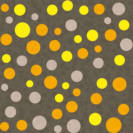 festive background: Seamless festive background from orange and gray circles