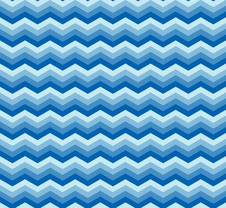 zigzag: Seamless abstract blue zig-zag background Illustration