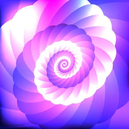 swirl: Neon abstract swirl background Illustration
