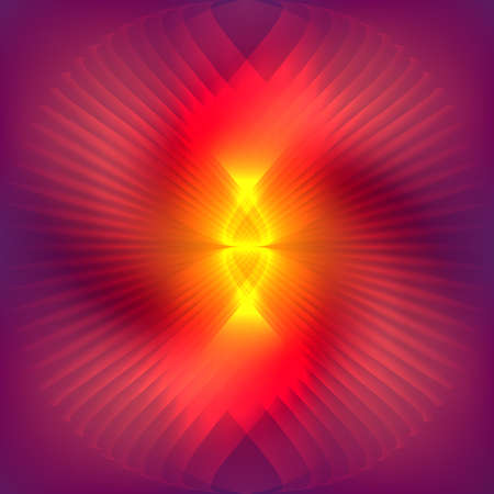 powerful aura: Cosmic red shining  abstract background