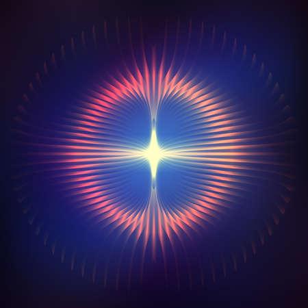 cosmic: Cosmic shining  abstract background
