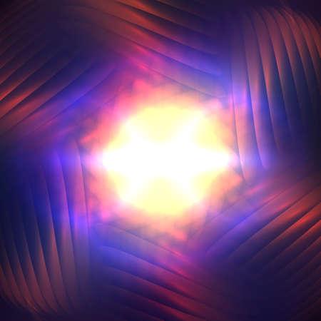 cosmic: Cosmic shining abstract background Illustration