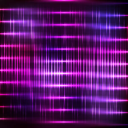 absract: Absract neon background with shine grid Illustration