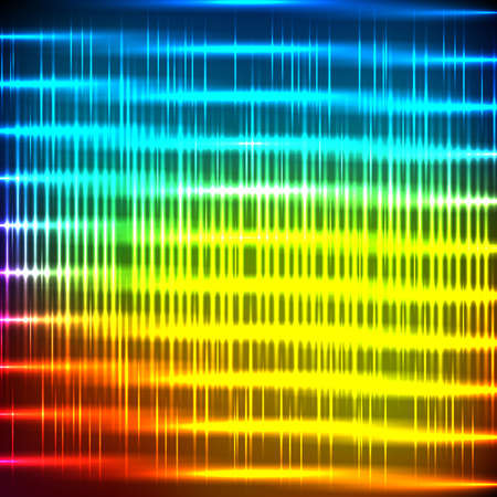 absract: Absract neon background with shine stripe Illustration