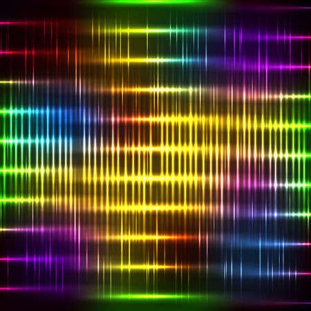 absract: Sfondo neon absract con lustro banda