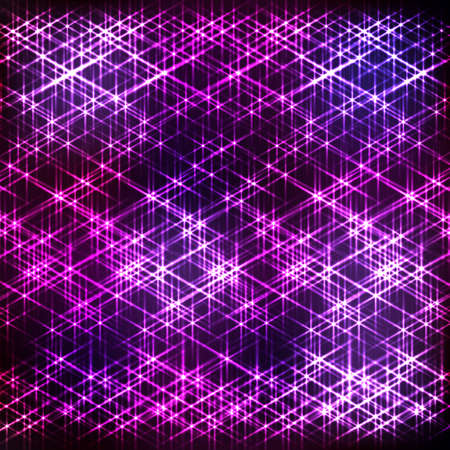 to shine: Absract neon background with shine grid Illustration