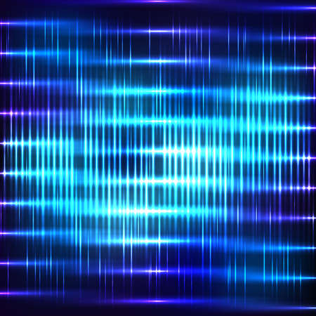 absract: Absract blue background with shine stripe Illustration