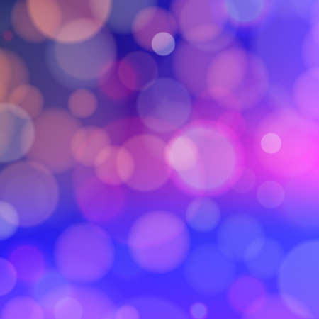 Bokeh effect on the blurred background. Abstract vector composition with dappled light and color. Can be used as background for your design.