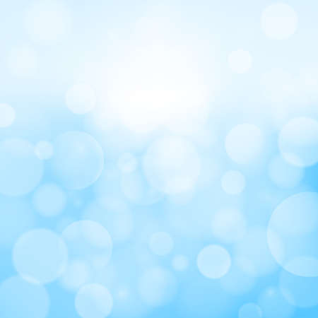 bokeh blue abstract background Illustration