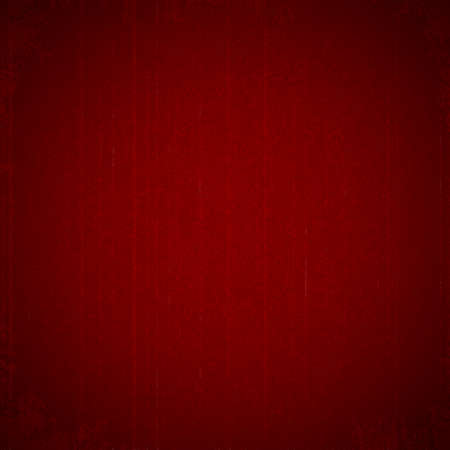 background cover: grunge texture on dark red background Illustration