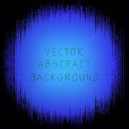 grunge frame: Grunge frame. Vector illustration