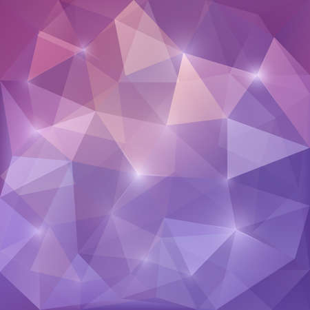 Purple Design Templates. Geometric Triangular Abstract Modern Vector Background.