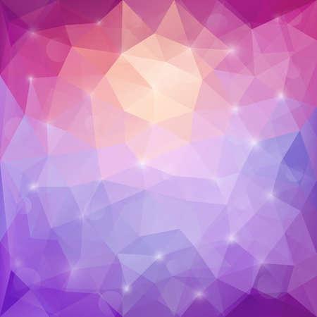 Purple Design Templates. Geometric Triangular Abstract Modern Vector Background.