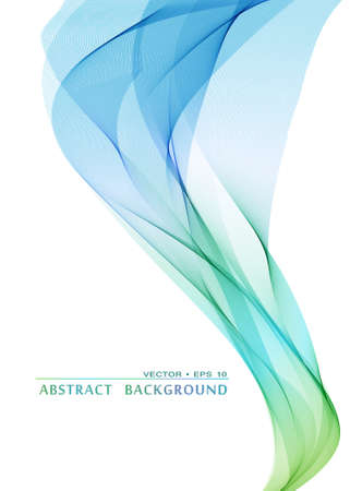 swirl background: Abstract colorful vector smoke background Illustration