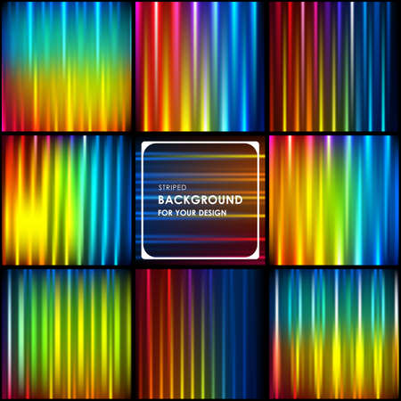 rainbow abstract: Abstract rainbow striped background