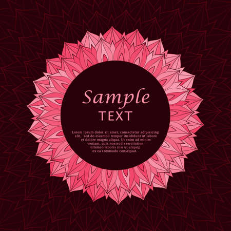 a place for the text: Abstract background with a place for text