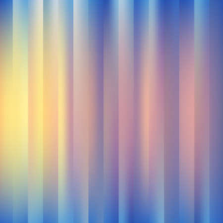 northern light: abstract bright striped spring background Illustration
