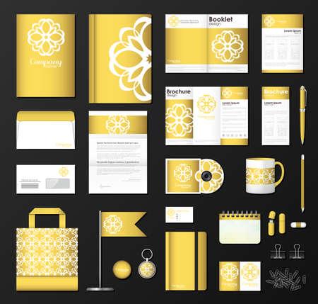 branding: Corporate identity template set.