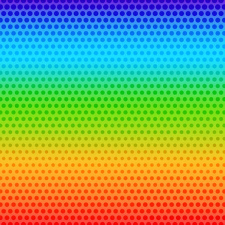 rainbow background: Abstract background with halftone effect rainbow blurred background Illustration