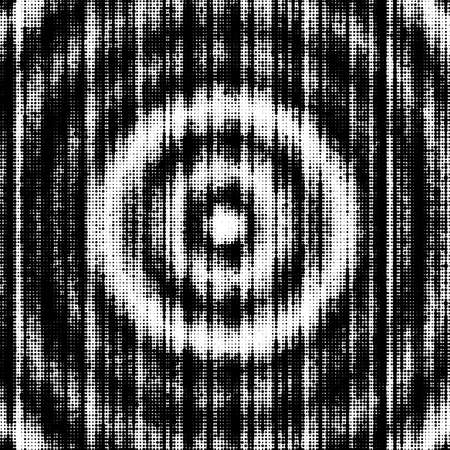 funk: Abstract halftone grunge texture with concentric effect