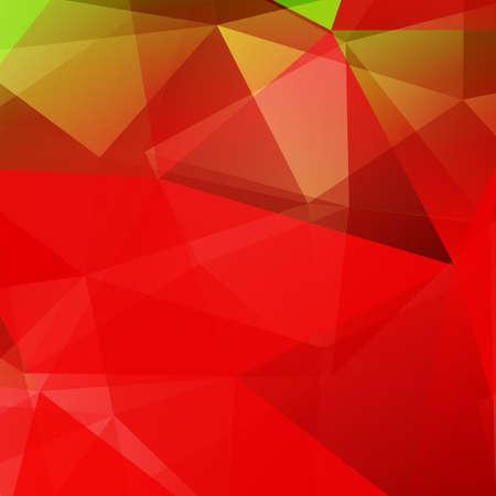 Abstrakt Dreieck bunter helles Mosaik Hintergrund. Vektor-Illustration