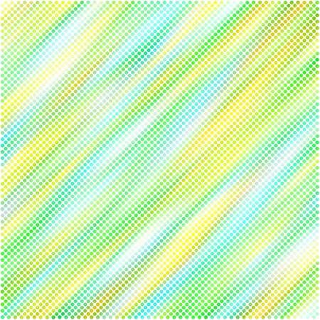 Abstract background with halftone effect full color Illustration