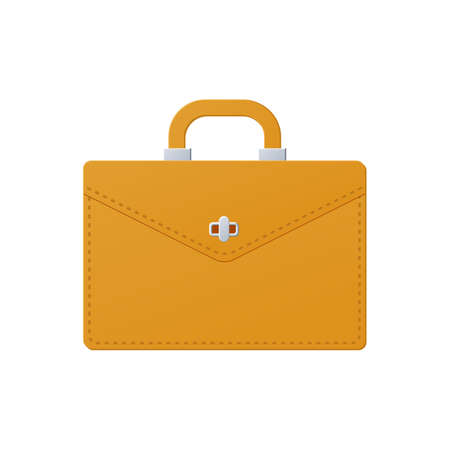 Briefcase, color icon isolated on a white background. 向量圖像