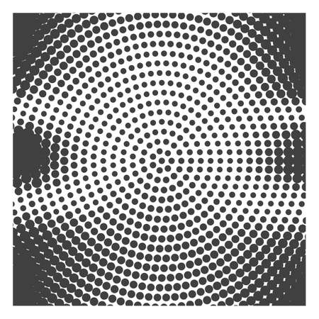 Abstract background with halftone effect, monochrome colors Stok Fotoğraf - 112082059