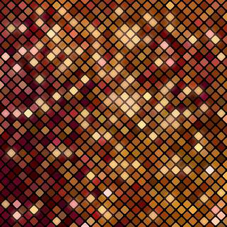 Abstract bright mosaic pattern of squares with rounded corners Stok Fotoğraf - 112082064
