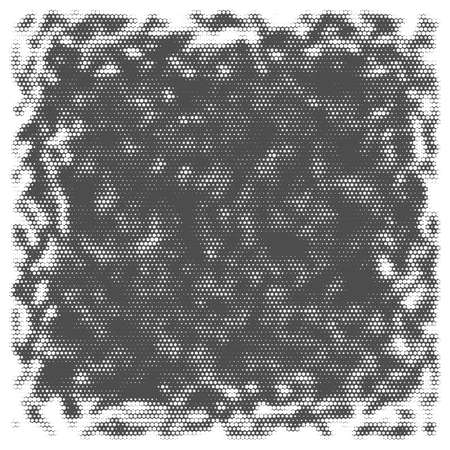 Abstract background with halftone effect, monochrome colors