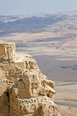 Vew of the Judean desert Stock Photo - 12924707