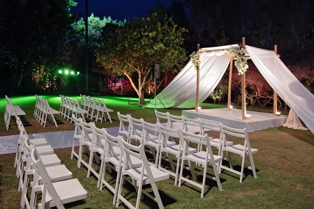 Jewish traditions wedding ceremony  Wedding canopy  chuppah or huppah   Stock Photo - 12925700
