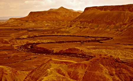 Beautiful vew of the Judean red desert Stock Photo - 12989972